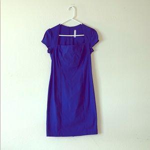 Royal Blue Pin-Up Dress